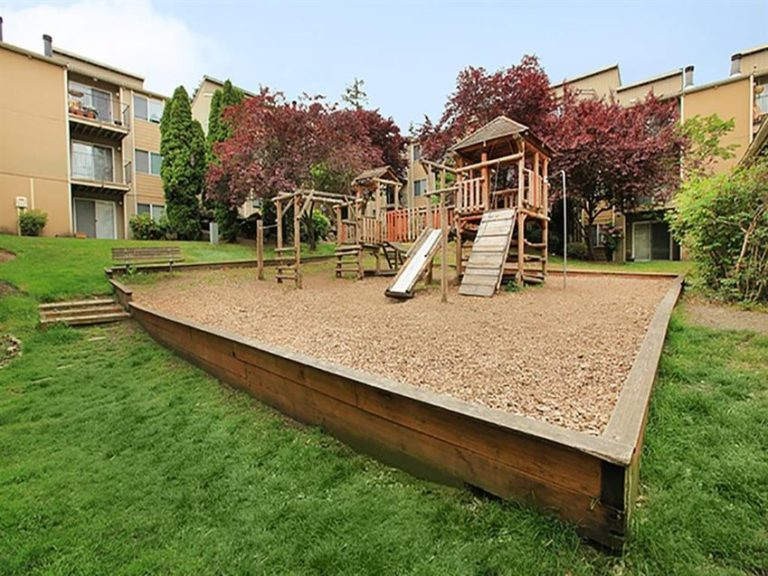 The Timbers Apartments playground.